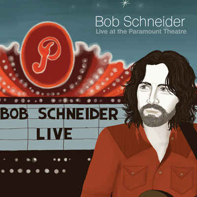 Bob Schneider - Live At The Paramount Theatre (CD/DVD)