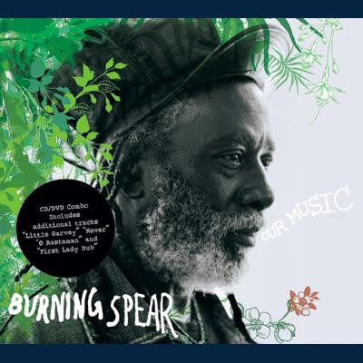 Burning Spear - Our Music (CD/DVD)