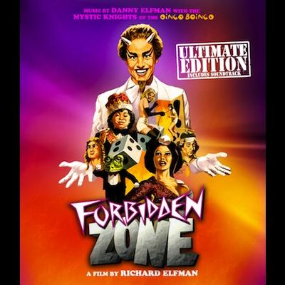 Danny Elfman - Forbidden Zone: Ultimate Edition (DVD+CD)
