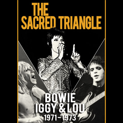 David Bowie, Iggy Pop & Lou Reed - The Sacred Triangle: 1971-1973 (DVD)