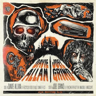 Davie Allan & Joel Grind - Split (EP)