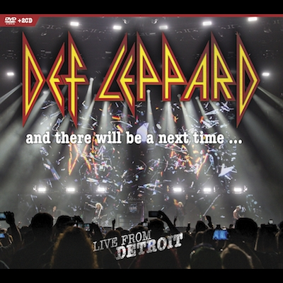 Def Leppard - And There Will Be A Next Time...Live From Detroit (DVD+2CD)