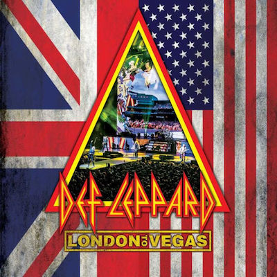 Def Leppard - London To Vegas Deluxe Limited (2DVD+4CD)