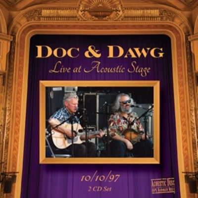 Doc Watson & David Grisman - Doc & Dawg Live At Acoustic Stage