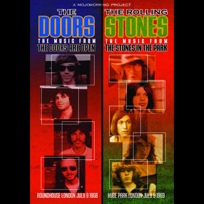 The Doors / The Rolling Stones - The Doors Are Open / Rolling Stones In The Park (DVD)