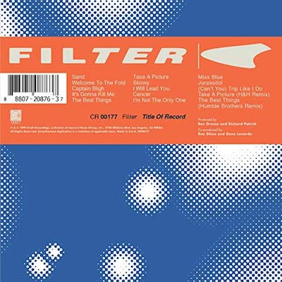 Filter - Title Of Record (Expanded Reissue)