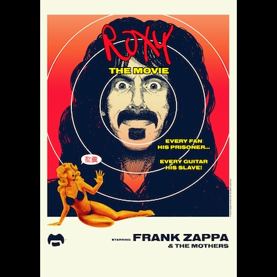Frank Zappa - Roxy: The Movie (DVD+CD)