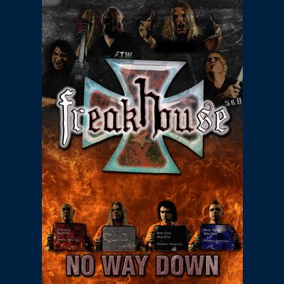 Freakhouse - No Way Down (DVD)