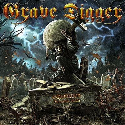 Grave Digger - Exhumation: The Early Years