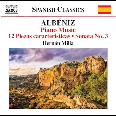 Hernan Milla - Piano Music, Vol. 7- 12 Piezas Características: Sonata No. 3