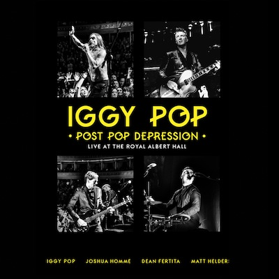 Iggy Pop - Post Pop Depression Live At The Royal Albert Hall (DVD+2CD)