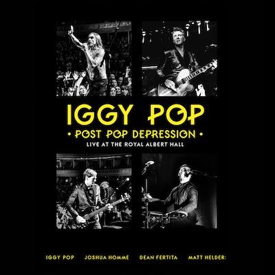 Iggy Pop - Post Pop Depression Live At The Royal Albert Hall (DVD+2CD)