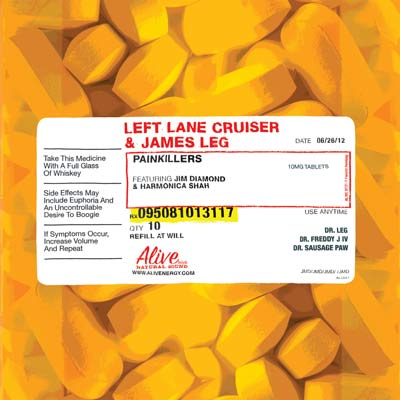 Left Lane Cruiser And James Leg - Painkillers