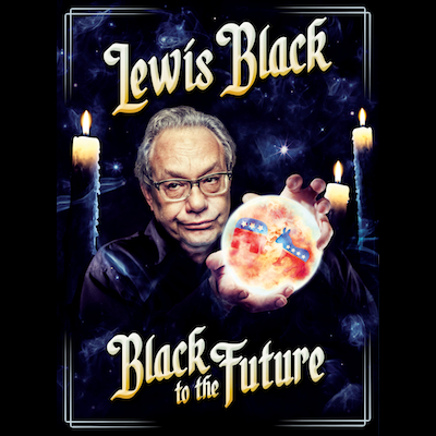Lewis Black - Black To The Future (DVD/CD)