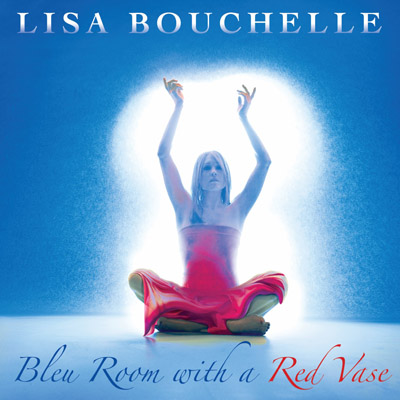Lisa Bouchelle - Bleu Room With A Red Vase