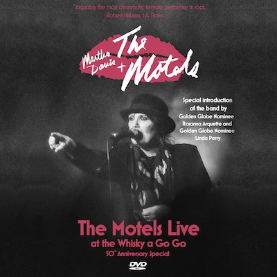 Martha Davis - The Motels Live At The Whisky A Go Go (DVD/Blu-ray)