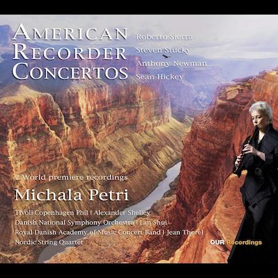 Michala Petri - American Recorder Concertos