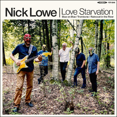 Nick Lowe - Love Starvation/Trombone (EP)