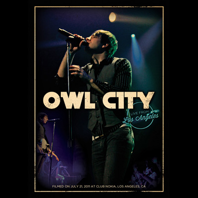 Owl City - Live From Los Angeles (DVD/Blu-ray)