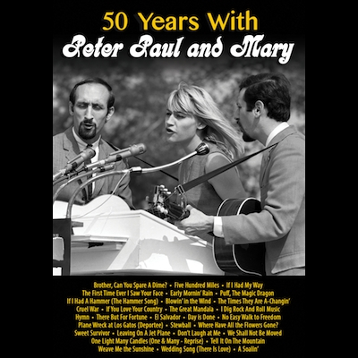 Peter Paul And Mary - 50 Years With Peter Paul And Mary (DVD)