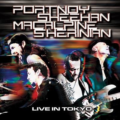 Portnoy, Sheehan, MacAlpine, Sherinian - Live In Tokyo (CD/DVD/Blu-Ray)