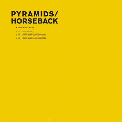 Pyramids/Horseback - A Throne Without A King