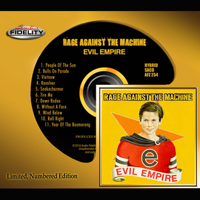 Rage Against The Machine - Evil Empire (SA-CD)
