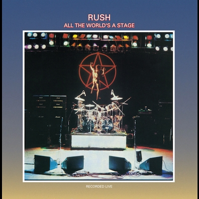 Rush - All The World's A Stage (Vinyl Reissue)