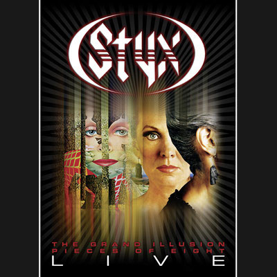 Styx - The Grand Illusion/Pieces Of Eight-Live (DVD/Blu-ray)
