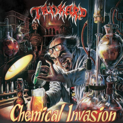 Tankard - Chemical Invasion (Green & Yellow Swirl Vinyl Reissue)