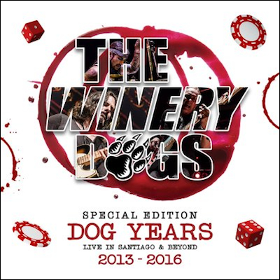 The Winery Dogs - Dog Years: Live In Santiago & Beyond