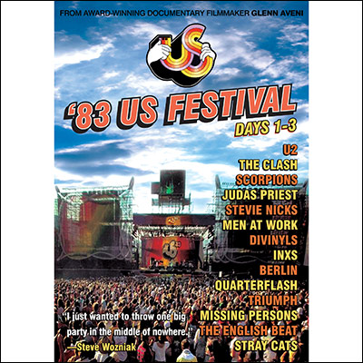 Various Artists - US Festival 1983: Days 1-3 (DVD)