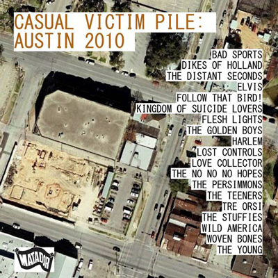 Various Artists - Casual Victim Pile: Austin 2010