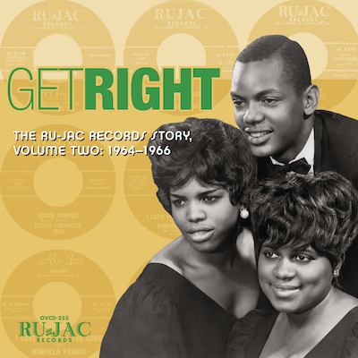 Various - Get Right: The Ru-Jac Records Story Volume Two: 1964–1966
