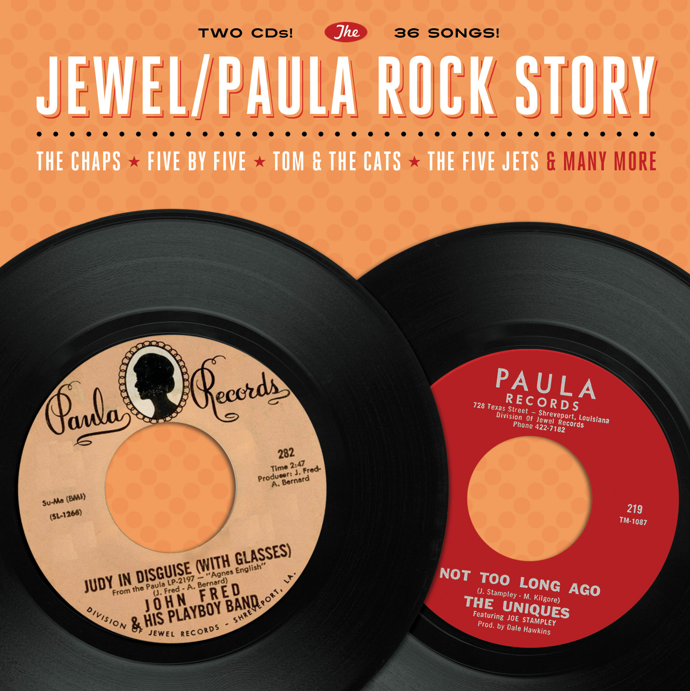 Various - The Jewel/Paula Rock Story