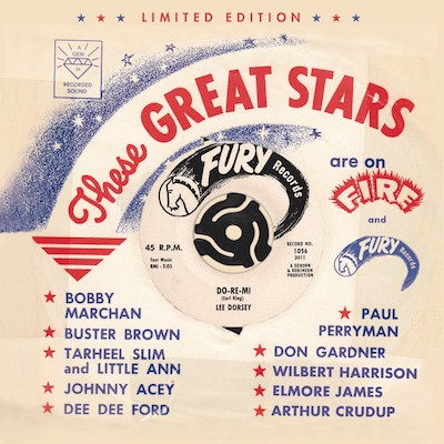 Various - These Great Stars Are On Fire & Fury