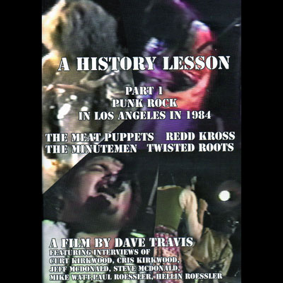 Various Artists - History Lesson Part 1: Punk Rock In Los Angeles In 1984 (DVD)