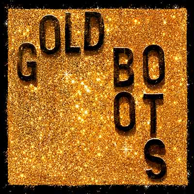 Wheeler Brothers - Gold Boots Glitter