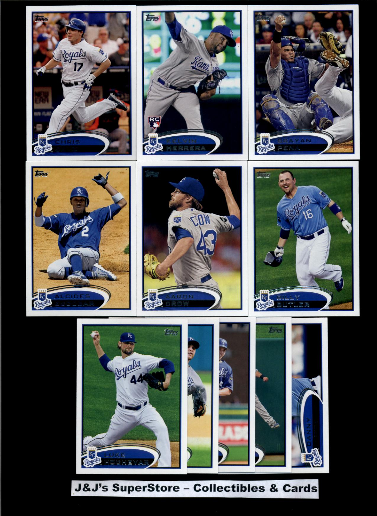 Topps 2012 Topps Kansas City Royals Master Team Set-26 Cards-Eric Hosmer,Mijares,Butler,Broxton,& Betancourt at Sears.com