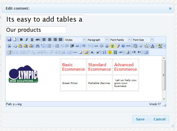 OWS Content Management System
