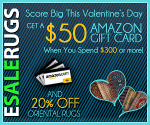 $50 Amazon Gift Card + 20% Off Oriental Rugs