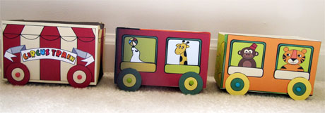 preview of a printable tea box circus train