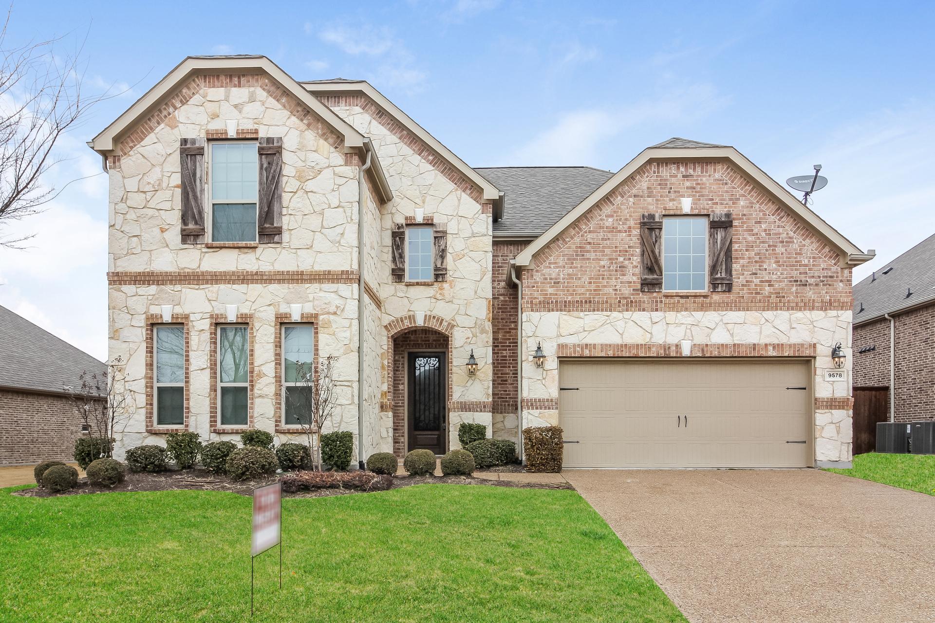 Photo of 9578 Amberwoods Lane, Frisco, TX 75035