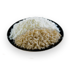 Steamed Brown Rice / Steamed White Rice