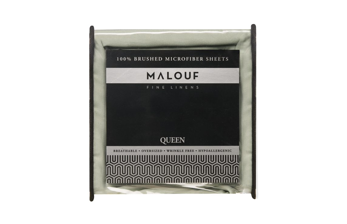 Malouf 100% Brushed Microfiber Sheet Set