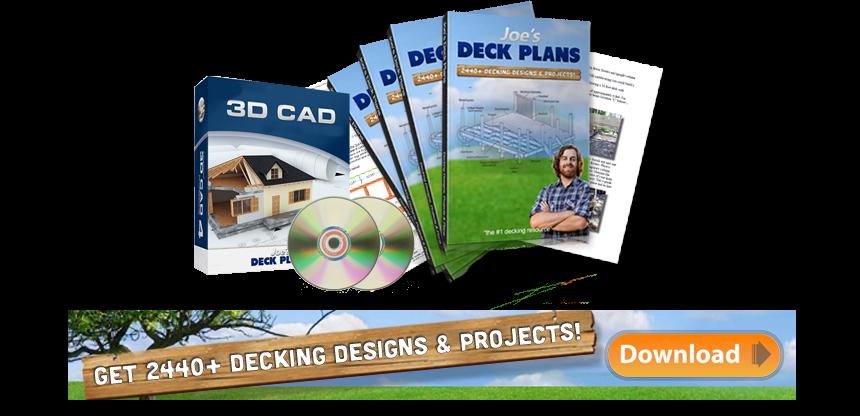 Deck designs free deck design software online for Deck planning software