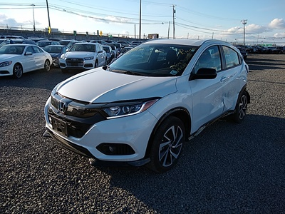 2019 Honda HR-V Sport (L4, 1.8L; SOHC 16V; i-VTEC)