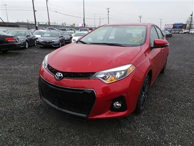 2015 Toyota Corolla  S (L4, 1.8L; DOHC 16V; VVT-i)