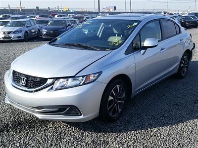 2013 Honda Civic EX (L4, 1.8L; SOHC 16V; VVT)