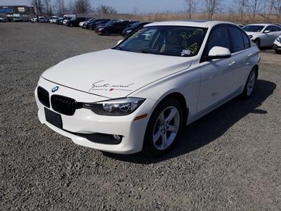 2014 BMW 3 series 320i XDrive (L4, 2.0L; Twin Turbo)